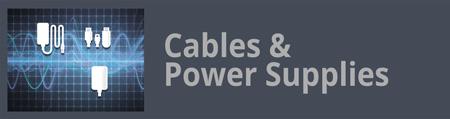 Kabel und Stromversorgungen