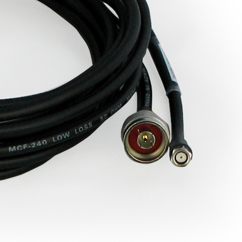 Coaxial Antenna Cable 500-N-R-SMA