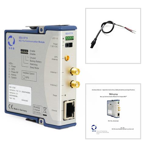 SEA 9719 802.11p Communication Module - Kit
