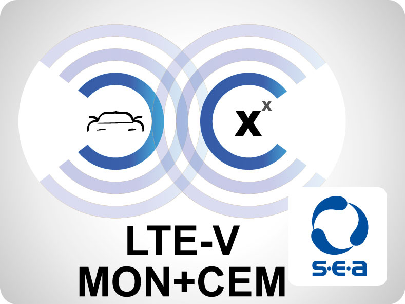 LTE-V Add-On for LabVIEW - MONITORING+CEM
