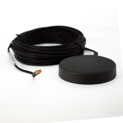 GPS Magnetfuss-Antenne mit Verstärker, Rund